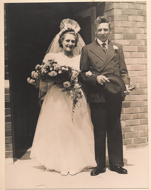 Vera Horsfield Wedding Timperley Methodist Church